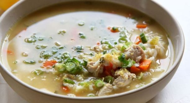 lemonchickenricesoup