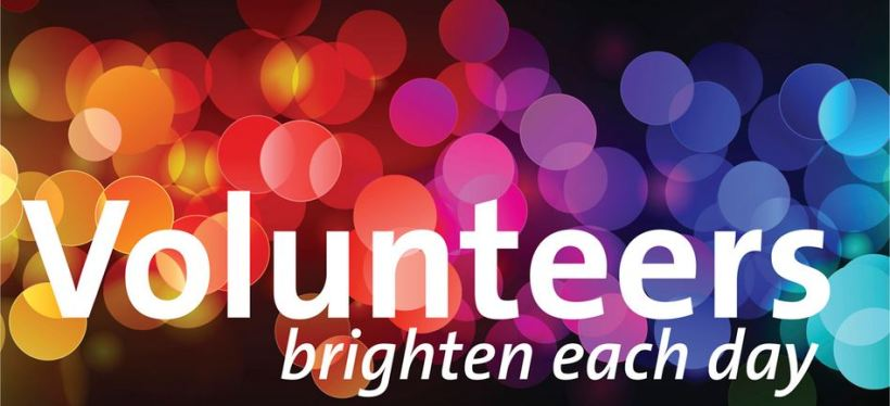 Volunteers brighten