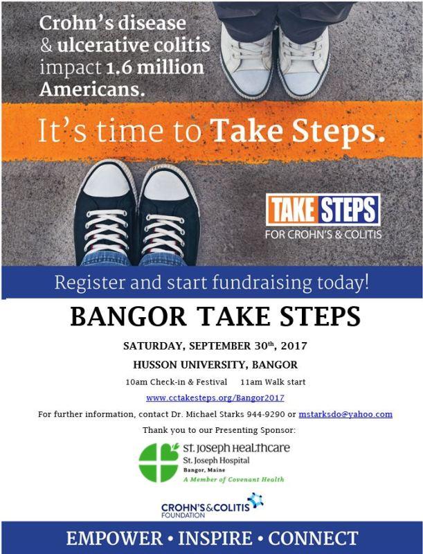 BGR Take Steps Sept 2017 flyer
