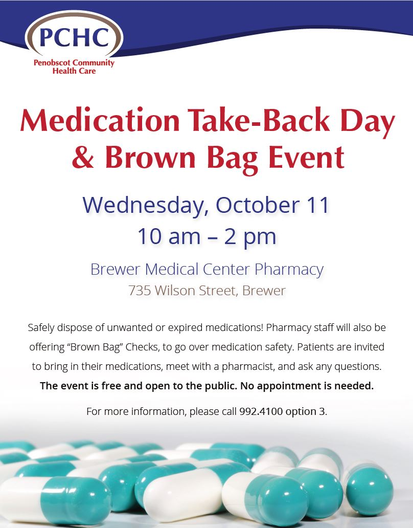 Med Take Back Day