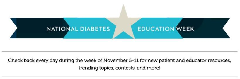 Nat Diabetes ed week